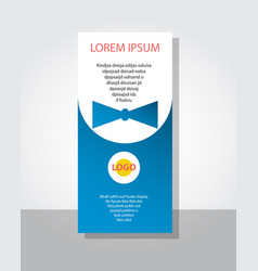 Poster flyer pamphlet brochure cover design vector
