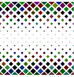 Square pattern background from diagonal squares vector