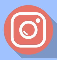 Badge camera camera flash vector