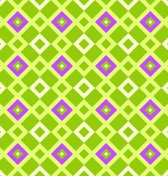 geometric pattern green vector image