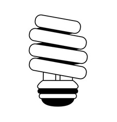 Energy saving lightbulb icon image vector