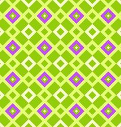 geometric pattern green vector image vector image