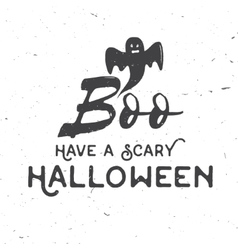 Have a scary Halloween concept vector image vector image
