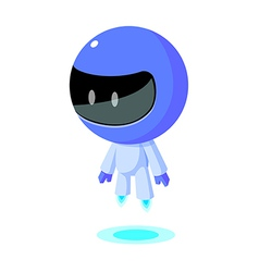 Icon space suit vector