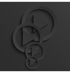 Modern play light background vector
