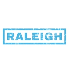 Raleigh rubber stamp vector
