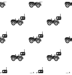 Rc car icon in black style isolated on white vector