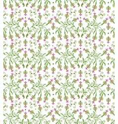 plants seamless vector image