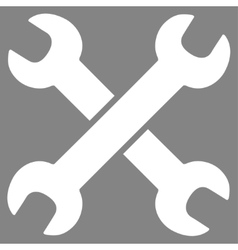 Wrenches icon vector