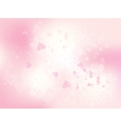 Beautiful abstract background for valentines day vector