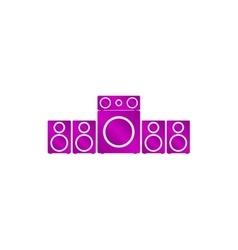 Speaker icon concept for vector