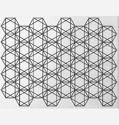 Hexagram star array vector