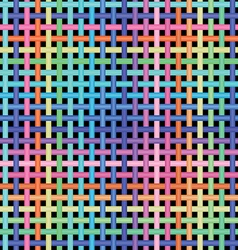 crossed-pattern vector image