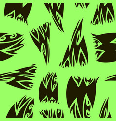 pattern in striped style vector image