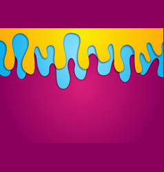 Colorful abstract wavy corporate background vector