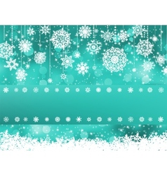 Beige christmas with christmas snowflake EPS 8 vector image
