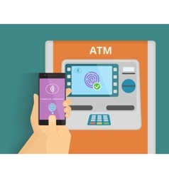 Mobile access to atm vector