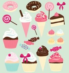 Cake shop vector