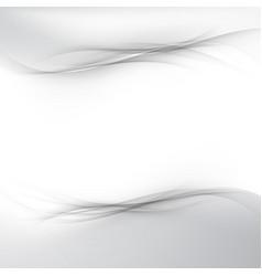 Modern grey futuristic gradient background vector