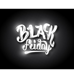 Black friday sale background with bokeh vector