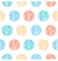 Seamless pattern polka dot vector