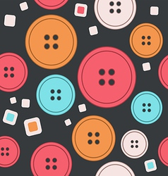 Sew seamless pattern vector