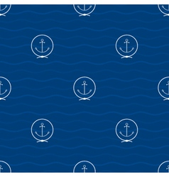 Seamless pattern with anchor vector