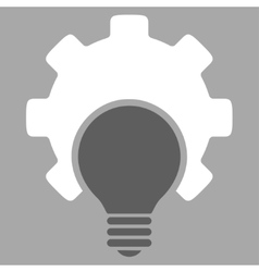 Bulb configuration icon vector