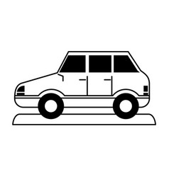 Car sideview icon imag vector