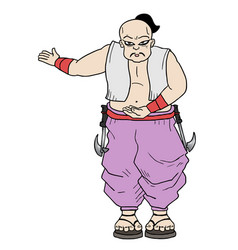 Chinesse man vector
