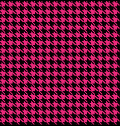 hounds tooth seamless pattern vector image vector image