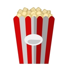 Popcorn box vector image