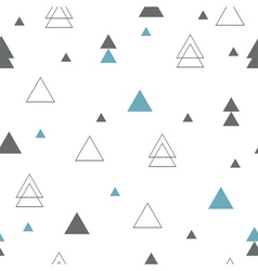 Geometric seamless pattern repeating geometric vector