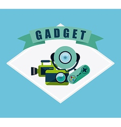Gadget tech vector