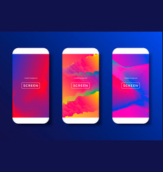 abstract backgrounds for mobile phones vector image