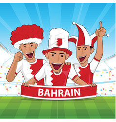 Bahrain football support vector
