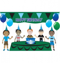 kids party vector image vector image