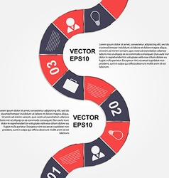 Modern infographic design elements vector