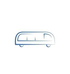 Bus Icon vector image vector image