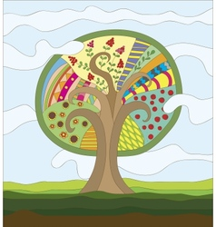 Fairy Tree vector image
