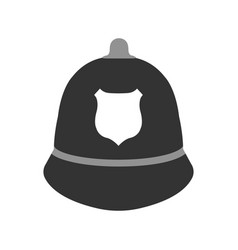 Police hat elements of the police equipment vector