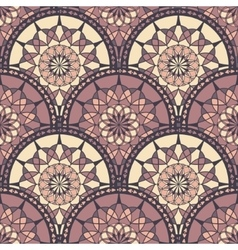 Seamless Pattern With Ethnic Ornament vector image vector image