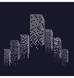 urban cityscape vector image vector image