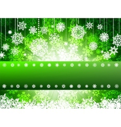 Bright new year and cristmas card template EPS 8 vector image