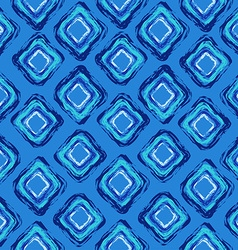 Abstract seamless pattern of rhombus vector