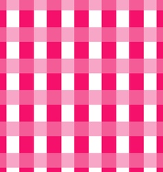 Tile pink plaid background and pattern vector