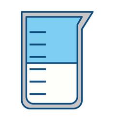 Erlenmeyer flask chemistry vector