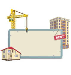 Homebuilding Board vector image vector image