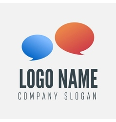 Logo label badge emblem or logotype element vector