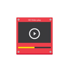 Music player 37 vector image